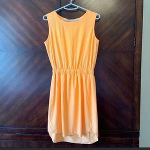 Athleta Astra dress in orange